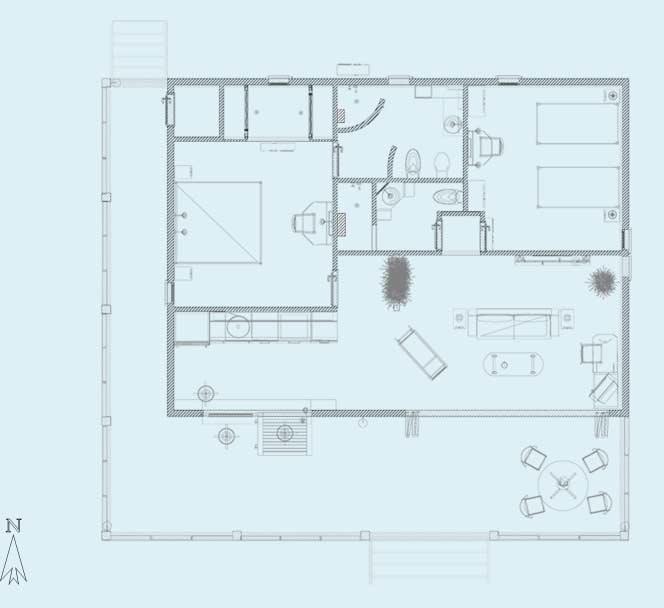 Floor Plan - Two-Bedroom