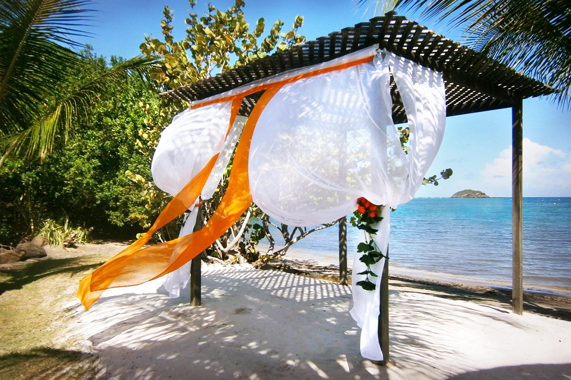 Wedding at Le Phare Bleu